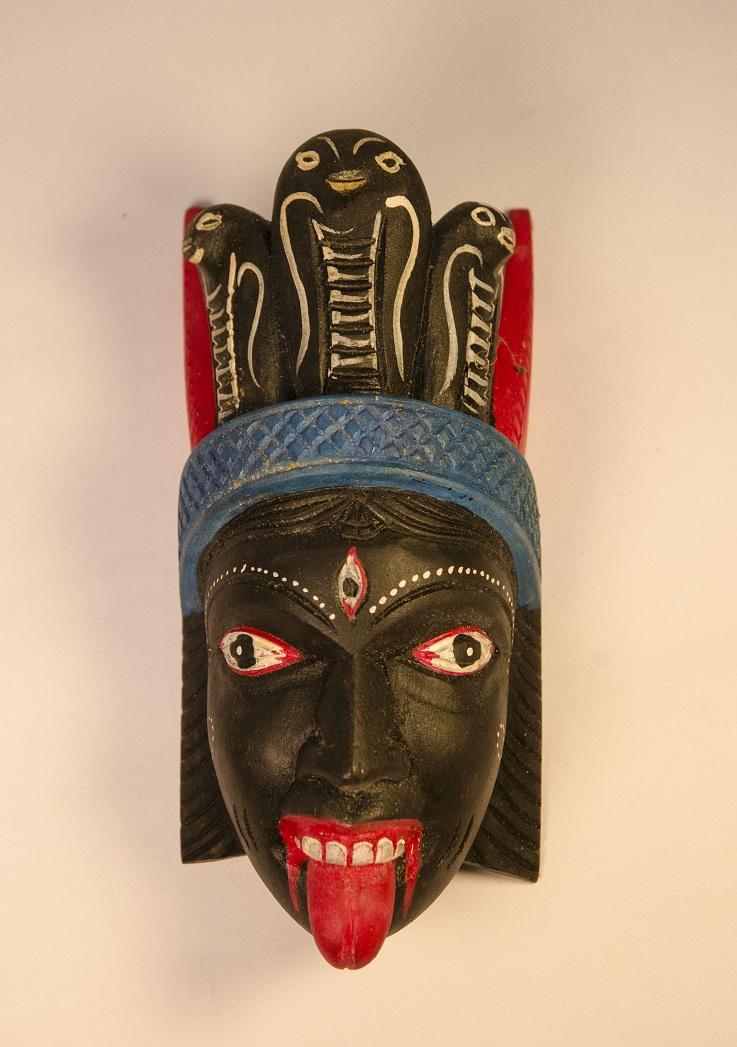 A mask of 'Kali'
